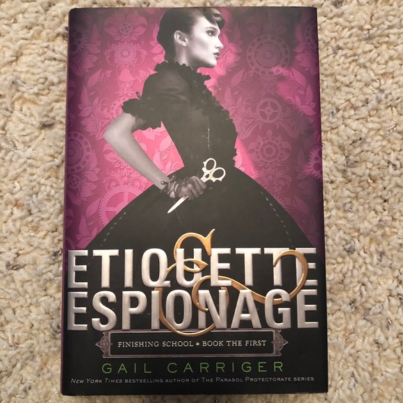 Etiquette & Espionage by Gail Carriger book